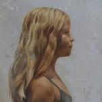portret schilderij kinderportret door jennifer koning - zusjes deel 1