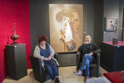 Peter van den Borne met Brita Seifert