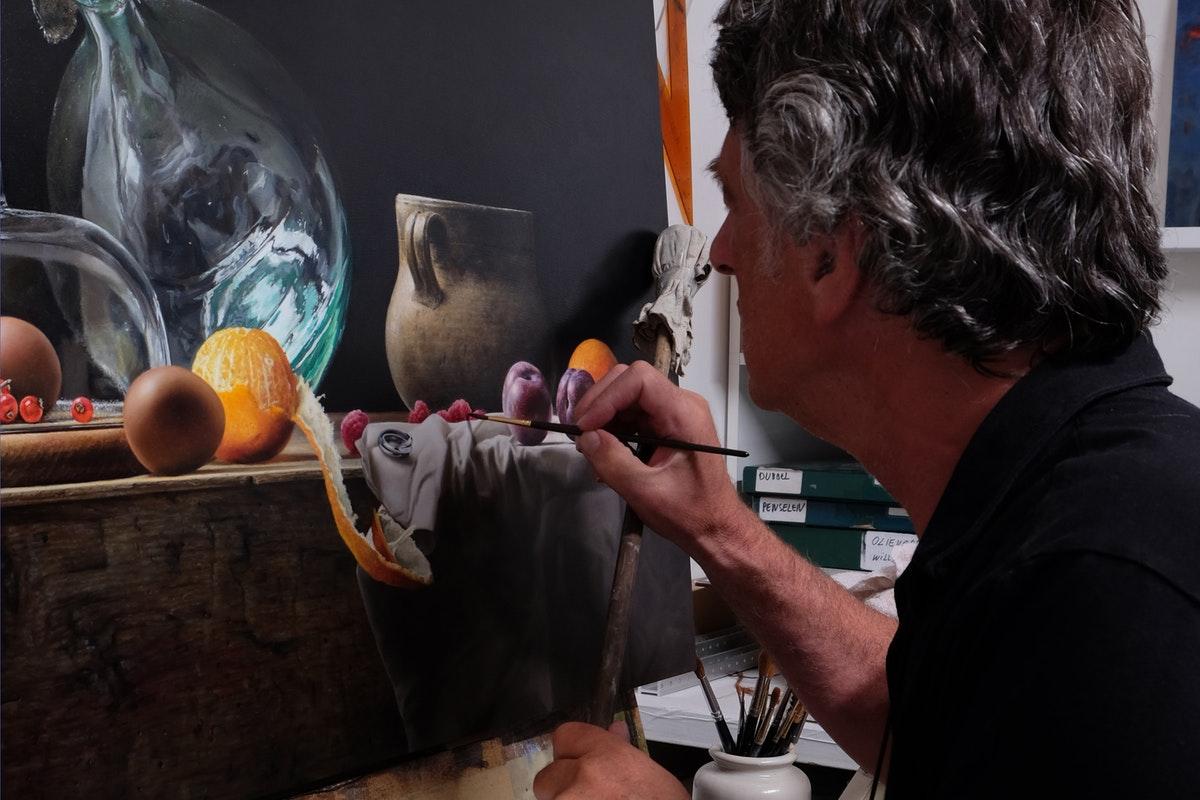 Mark van Crombrugge in Atelier