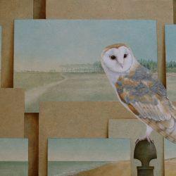 Ode aan Jan Mankes Olieverf op paneel 40 x 50 cm